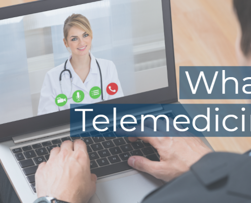 featured image titled what is telemedicine