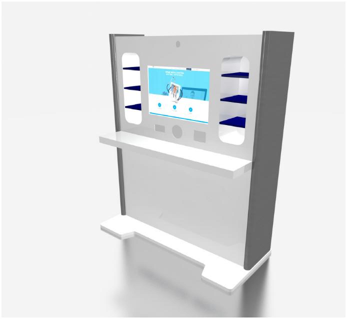 Bonum Telehealth Kiosk for Telehealth