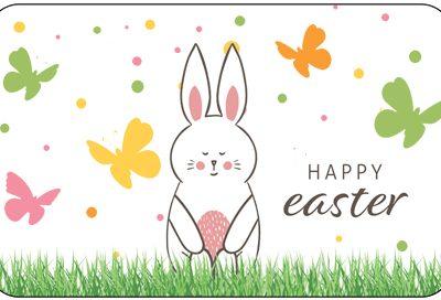 Pre-Paid Health Card - Happy Easter Theme