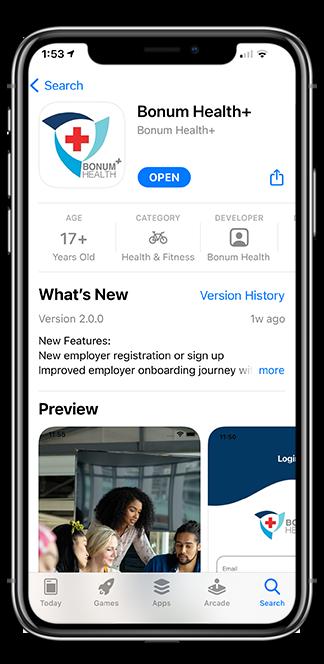 Bonum Health Plus COVID-19 Monitoring Tools - in the App Store
